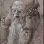 Albrecht Dürer - Hoofd van een oude man,(1521)